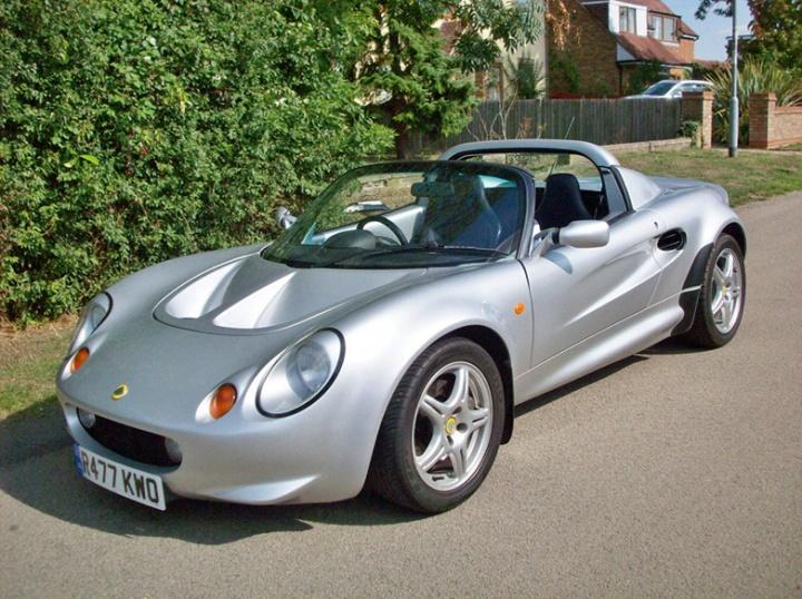 allon white Lotus Elise S1
