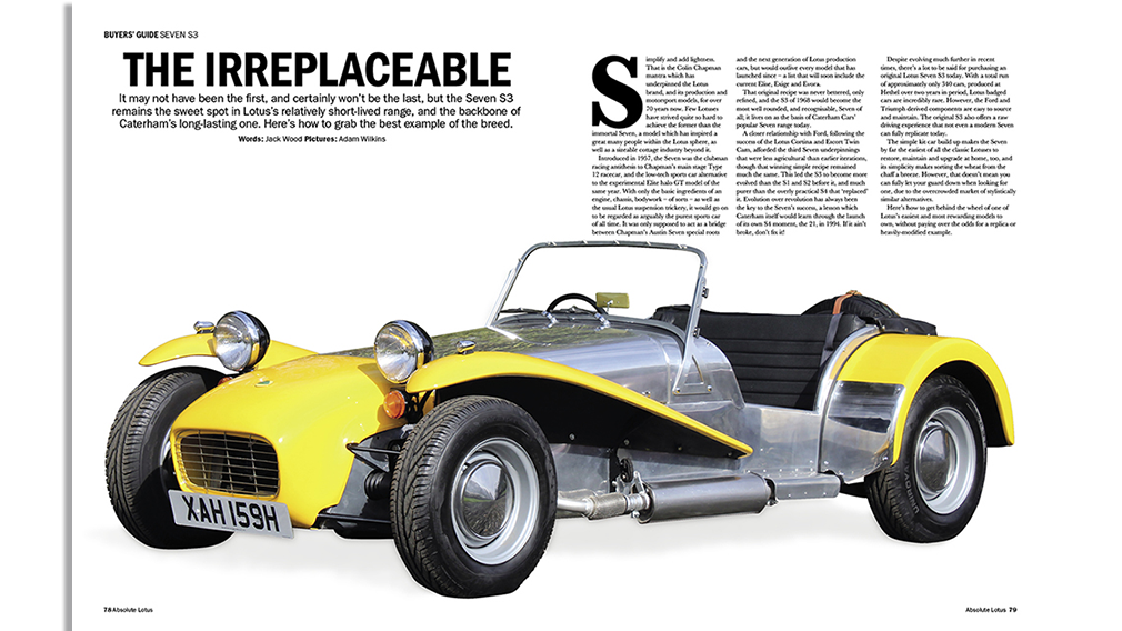 Lotus Seven Buyers Guide