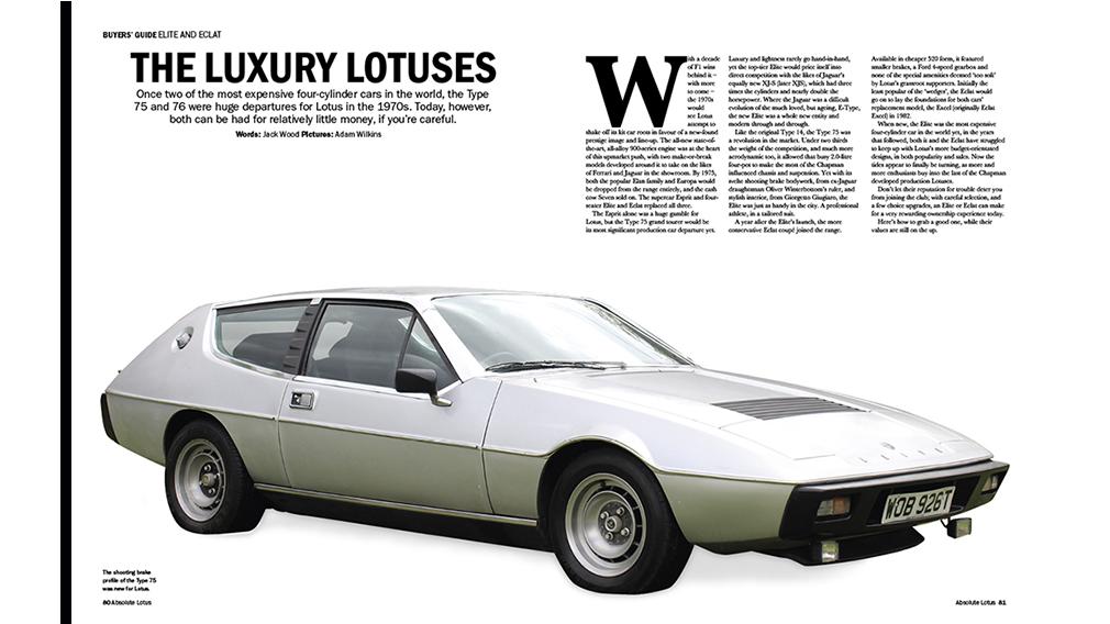 Lotus Elite and Eclat buyers guide